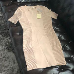 Dresses & Skirts - Ronny Kobo Nude Bandage dress NWT